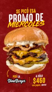 Dime Burger + Papas